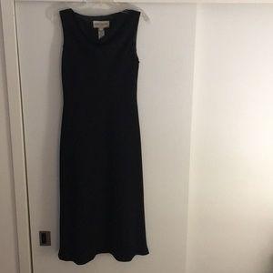 Classic black dress.